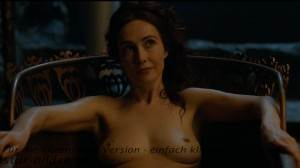 carice van houten nackt in game of thrones